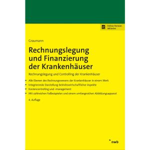 Rechnungslegung und Finanzierung der Krankenhäuser: Rechnungslegung und Controlling der Krankenhäuser
